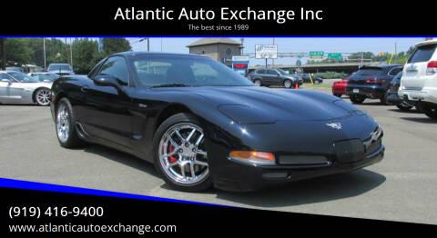 2003 Chevrolet Corvette for sale at Atlantic Auto Exchange Inc in Durham NC