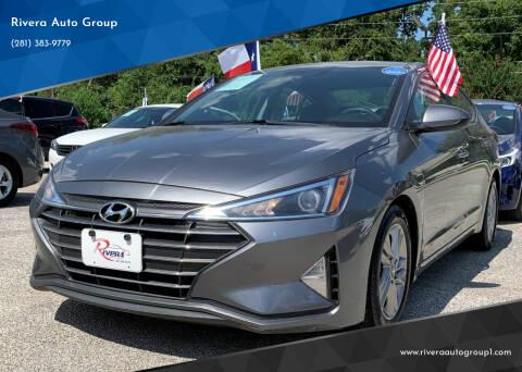 2019 Hyundai Elantra for sale at Rivera Auto Group in Spring TX