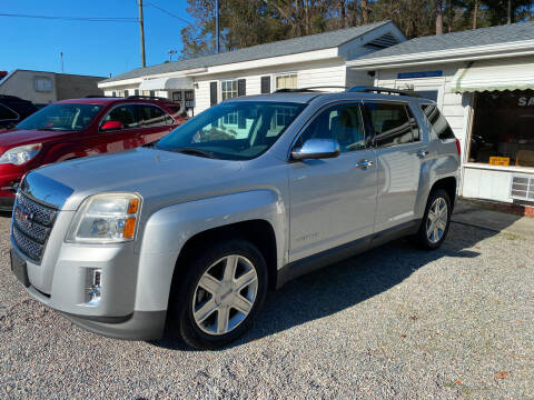 2010 GMC Terrain for sale at Robert Sutton Motors in Goldsboro NC