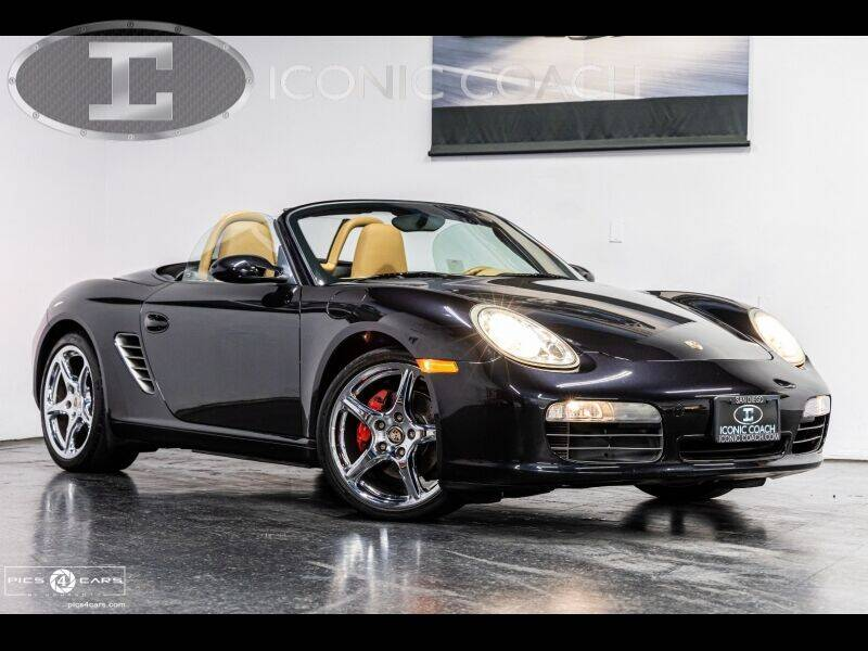 2006 Porsche Boxster for sale at Iconic Coach in San Diego CA