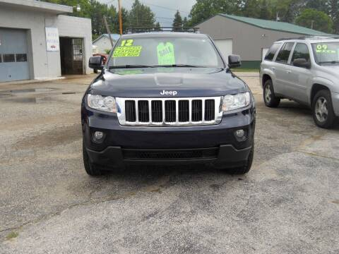 2012 Jeep Grand Cherokee for sale at Shaw Motor Sales in Kalkaska MI
