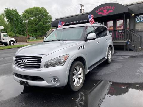 2014 Infiniti QX80 for sale at Savannah Motors in Belleville IL