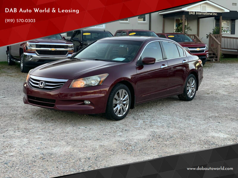 2012 Honda Accord for sale at DAB Auto World & Leasing in Wake Forest NC