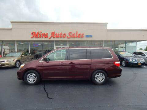 2007 Honda Odyssey for sale at Mira Auto Sales in Dayton OH