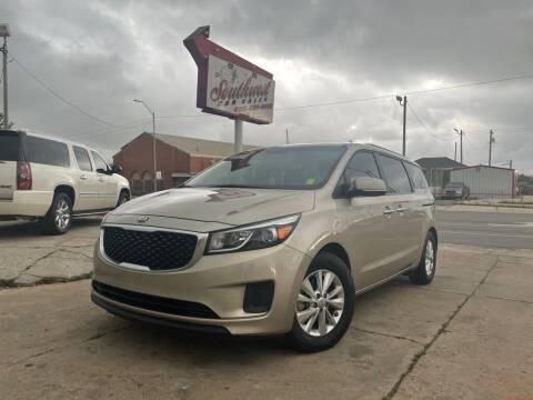 2015 Kia Sedona for sale at Southwest Car Sales in Oklahoma City OK