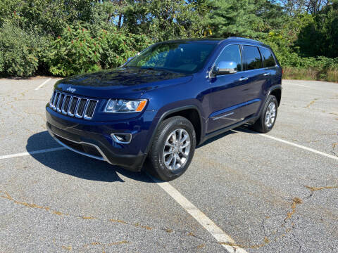 2016 Jeep Grand Cherokee for sale at Westford Auto Sales in Westford MA