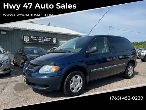2002 Dodge Caravan for sale at Hwy 47 Auto Sales in Saint Francis MN