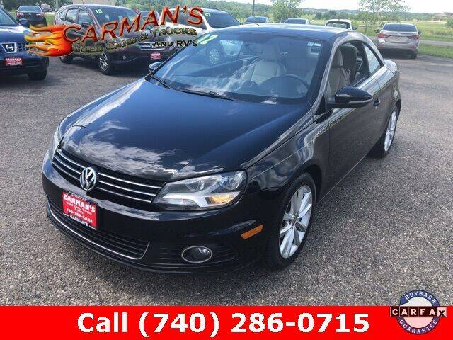 2012 Volkswagen Eos for sale at Carmans Used Cars & Trucks in Jackson OH