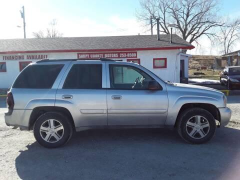 2005 Chevrolet TrailBlazer for sale at Sarpy County Motors in Springfield NE