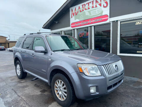 2008 Mercury Mariner for sale at Martins Auto Sales in Shelbyville KY