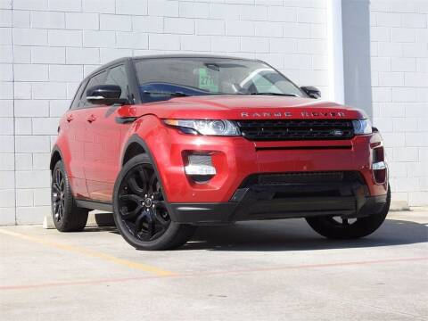 2013 Land Rover Range Rover Evoque for sale at Joe Myers Toyota PreOwned in Houston TX