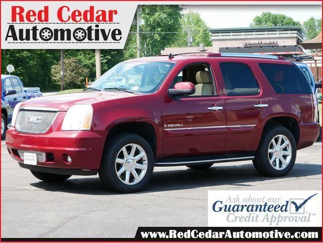 2008 GMC Yukon for sale at Red Cedar Automotive in Menomonie WI