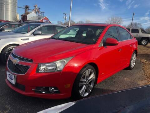 2012 Chevrolet Cruze for sale at WINDOM AUTO OUTLET LLC in Windom MN