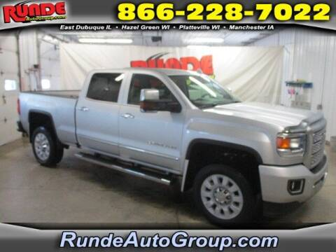 2018 GMC Sierra 2500HD for sale at Runde Chevrolet in East Dubuque IL