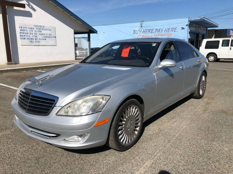 2007 Mercedes-Benz S-Class for sale at All Cars & Trucks in North Highlands CA