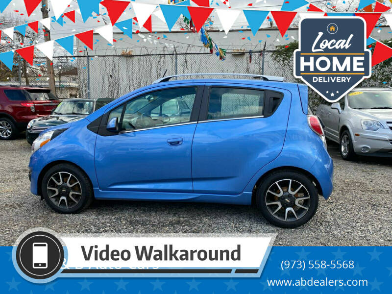2013 Chevrolet Spark for sale at A & B Auto Cars in Newark NJ