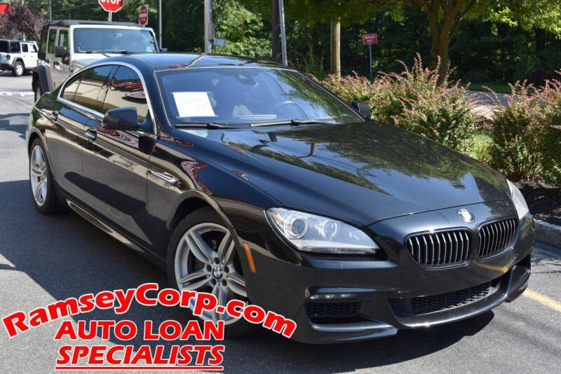 2013 BMW 6 Series for sale at Ramsey Corp. in West Milford NJ