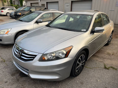 2012 Honda Accord for sale at Noel Motors LLC in Griffin GA