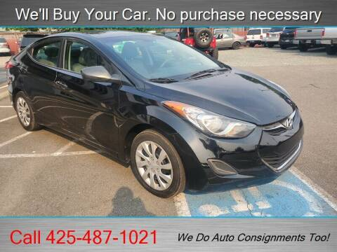 2012 Hyundai Elantra for sale at Platinum Autos in Woodinville WA