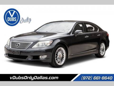 2011 Lexus LS 460 for sale at VDUBS ONLY in Dallas TX
