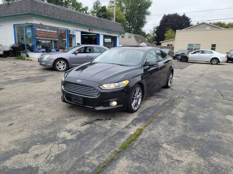 2013 Ford Fusion for sale at MOE MOTORS LLC in South Milwaukee WI