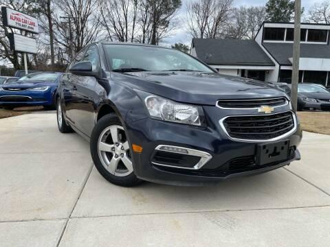 2015 Chevrolet Cruze for sale at Alpha Car Land LLC in Snellville GA