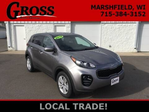 2018 Kia Sportage for sale at Gross Motors of Marshfield in Marshfield WI