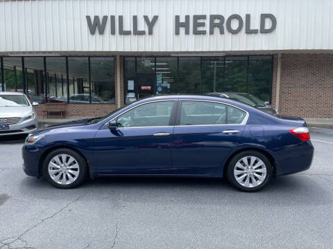 2014 Honda Accord for sale at Willy Herold Automotive in Columbus GA