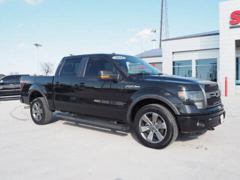 2014 Ford F-150 for sale at SIMOTES MOTORS in Minooka IL