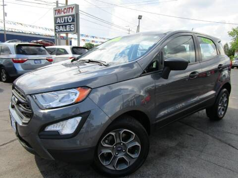 2020 Ford EcoSport for sale at TRI CITY AUTO SALES LLC in Menasha WI