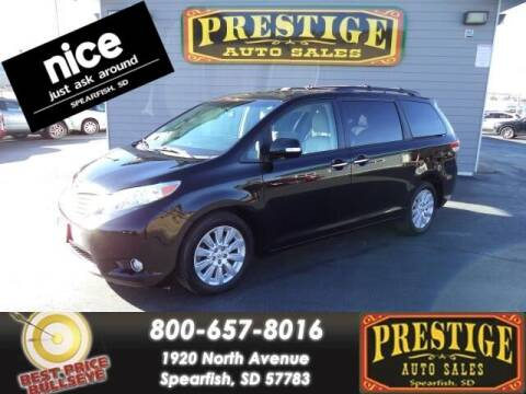 2014 Toyota Sienna for sale at PRESTIGE AUTO SALES in Spearfish SD