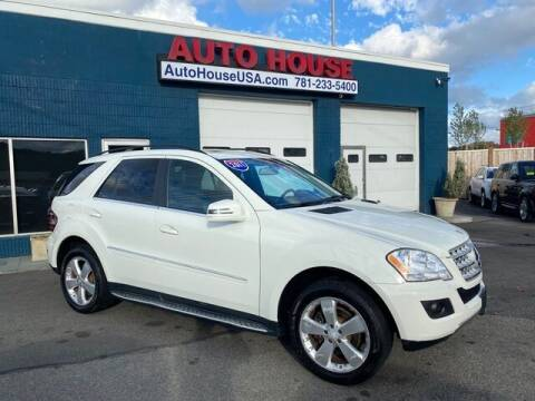 2011 Mercedes-Benz M-Class for sale at Saugus Auto Mall in Saugus MA