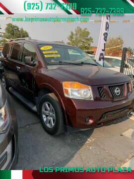 2013 Nissan Armada for sale at Los Primos Auto Plaza in Antioch CA