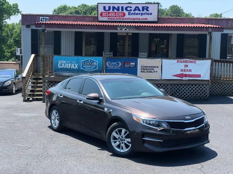 2018 Kia Optima for sale at Unicar Enterprise in Lexington SC