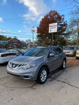 2014 Nissan Murano for sale at NEWFOUND MOTORS INC in Seabrook NH