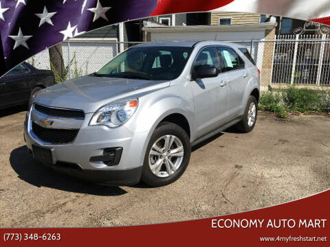 2015 Chevrolet Equinox for sale at ECONOMY AUTO MART in Chicago IL