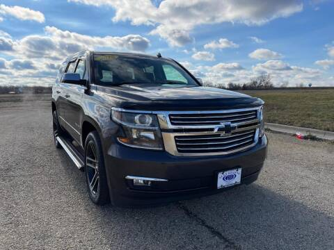 2015 Chevrolet Tahoe for sale at Alan Browne Chevy in Genoa IL