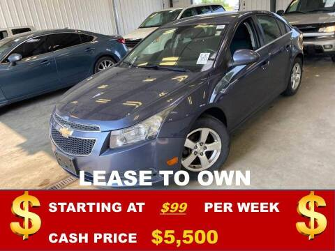 2013 Chevrolet Cruze for sale at Auto Mart USA in Kansas City MO