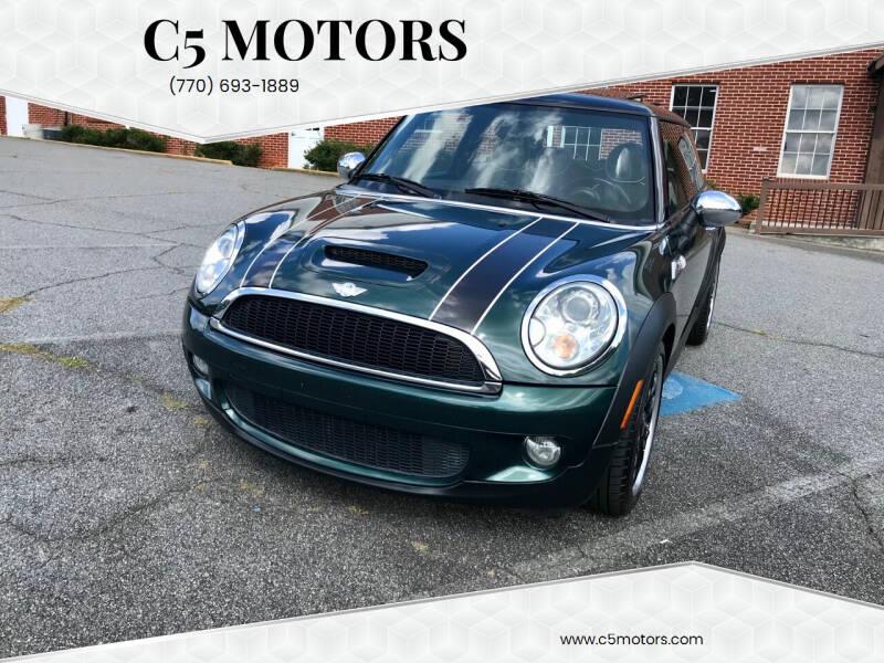 2010 MINI Cooper for sale at C5 Motors in Marietta GA