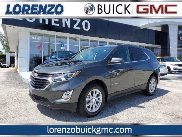 2020 Chevrolet Equinox for sale at Lorenzo Buick GMC in Miami FL