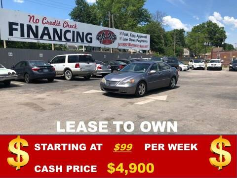 2005 Acura RL for sale at Auto Mart USA in Kansas City MO