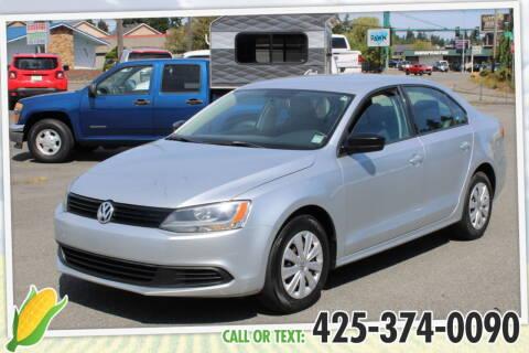 2013 Volkswagen Jetta for sale at Corn Motors in Everett WA