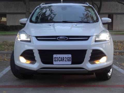 2013 Ford Escape for sale at 123 Car 2 Go LLC in Dallas TX
