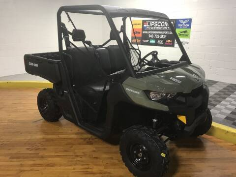 2021 Can-Am Defender HD5 for sale at Lipscomb Powersports in Wichita Falls TX