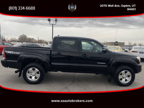 2015 Toyota Tacoma for sale at S S Auto Brokers in Ogden UT