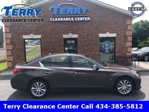 2014 Infiniti Q50 for sale at Terry Clearance Center in Lynchburg VA