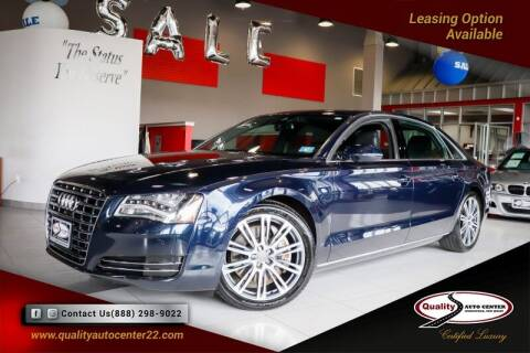 2013 Audi A8 L for sale at Quality Auto Center in Springfield NJ