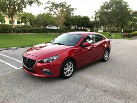 2015 Mazda MAZDA3 for sale at EUROPEAN AUTO ALLIANCE LLC in Coral Springs FL