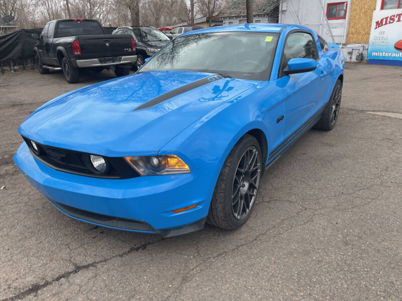 2012 Ford Mustang for sale at Mister Auto in Lakewood CO