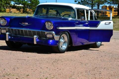 1956 Chevrolet Bel Air for sale at Classic Car Deals in Cadillac MI